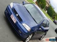 2002 TS Holden Astra SRi coupe for Sale