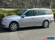 VAUXHALL VECTRA CDX ESTATE SILVER MANUAL PETROL 1.8 GOOD SERVICE HISTORY Y612DRP for Sale