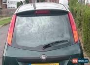 Ford Focus 1.6L, 5 Door, Petrol, Green Hatchback Car (2003) for Sale