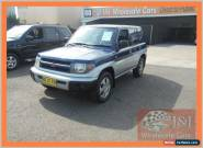 2001 Mitsubishi Pajero QA IO (4x4) Blue Automatic 4sp A Wagon for Sale