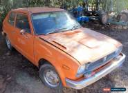 1975 HONDA CIVIC COMPLETE CAR NOT WORKING / RUNNING for Sale