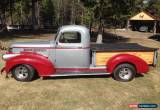 Classic Chevrolet: Other Pickups for Sale