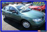 Classic 2000 Holden Astra TS City Green Manual 5sp M Hatchback for Sale