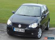 2006 VOLKSWAGEN POLO SPORT TDI 100 BLACK + 3 DAYS NO RESERVE AUCTION !!! for Sale