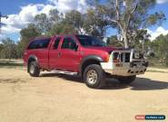 2002 FORD F250 XLT 4X4 SUPER CAB for Sale