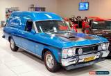 Classic 1970 Ford Falcon XW Electric Blue Manual M Van for Sale