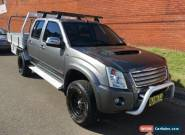 2008 Holden Rodeo RA MY08 LX (4x4) Grey Manual 5sp M Crewcab for Sale