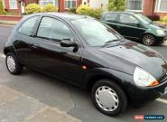2003 FORD KA BLACK for Sale