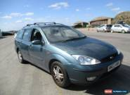 2002 FORD FOCUS ZETEC GREEN 5 DOOR ESTATE for Sale