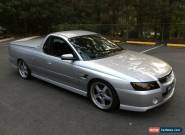 2004 Holden Commodore VZ SS Quicksilver Automatic 4sp A Utility for Sale