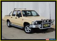 1991 Toyota Hilux RN85R SR5 Beige Automatic 4sp A Dual Cab Pick-up for Sale