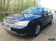 2005 FORD MONDEO LX 2.0 TDCI DIESEL SERVICE HISTORY TOWBAR NO RESERVE BARGAIN !  for Sale