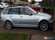 2002 BMW 320I SE TOURING AUTO SILVER for Sale