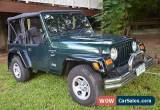 Classic Jeep Wrangler Sport (4x4) (2001) Low Km for Sale