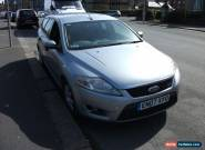 2007 FORD MONDEO EDGE TDCI 140 SILVER SPARES OR REPAIR  for Sale