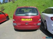 2001 RENAULT MEGANE SCENIC SPORT ALIZE RED - SPARES OR REPAIR for Sale