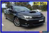 Classic 2009 Subaru Impreza MY09 WRX (AWD) Black Manual 5sp M Sedan for Sale