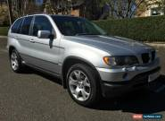 2003 BMW X5 DIESEL AUTO SILVER ,185,000M,FSH,1 PREVIOUS OWNER,* NEEDS ATTENTION for Sale