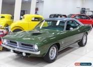 1970 Plymouth Cuda Green Automatic A Coupe for Sale