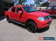 2013 Nissan Navara D40 MY12 ST (4x4) Red Manual 6sp M Dual Cab Pick-up for Sale