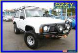 Classic 1988 Nissan Patrol DX (4x4) White Manual 5sp M Hardtop for Sale