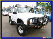 1988 Nissan Patrol DX (4x4) White Manual 5sp M Hardtop for Sale