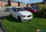 Classic 2012 BMW 118D SPORT WHITE 5DR RED LEATHERS for Sale
