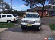 Ford Courier 2006 XL (4x4) Turbo Diesel Dual cab in very good working order for Sale