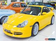 2000 Porsche 911 Carrera Speed Yellow Manual 6sp M Coupe for Sale