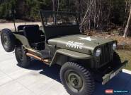 1946 Willys for Sale