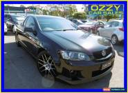 2008 Holden Commodore VE SS Black Manual 6sp M Utility for Sale