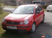 VOLKSWAGON POLO E 1.2 PETROL HATCHBACK 5 DR 6 Mnths TEST Needs repair for Sale