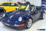 Classic 1975 Porsche 911 CARRERA 3.2 Blue Manual 5sp M Targa for Sale
