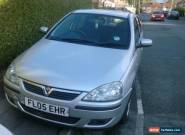VAUXHALL CORSA 1.2 SXI 16V TWINPORT SILVER 5 DOORS 80,714 MILES for Sale