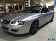 2004 Holen Commodore Utility UTE - 6SPEED MANUAL - LED -SSV MAGS - IMMACULATE! for Sale
