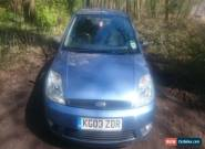 2003 FORD FIESTA ZETEC TDCI BLUE. NEW MOT. NEW CLUTCH x 2 KEYS for Sale