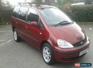 2001 FORD GALAXY ZETEC 16V AUTO RED for Sale
