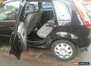 2003 FORD FIESTA FINESSE BLACK for Sale