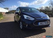 FORD B-MAX ZETEC 2013 1.6 PETROL AUTOMATIC COVERED ONLY 3700 MILES IN BLUE for Sale