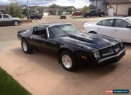 Pontiac: Trans Am for Sale