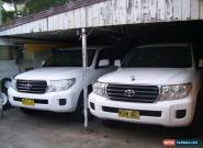 landcruiser vdj200 twin turbo v8 diesel for Sale