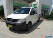 2005 Volkswagen Transporter T5 (LWB) White Automatic 6sp A Dual Cab Chassis for Sale