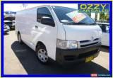 Classic 2007 Toyota Hiace TRH201R MY07 LWB White Manual 5sp M Van for Sale