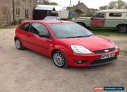 2005 FORD FIESTA 1.6 1600 ZETEC S RED - no reserve for Sale