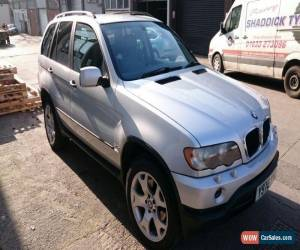 Classic BMW X5 2001 3.0 DIESEL AUTOMATIC SILVER BRISTOL MOT until 08.09.2016 for Sale