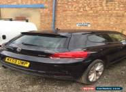 2009 Volkswagen-Scirocco-2.0 TSI Black *SALVAGE REPAIR* CAT D for Sale
