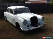 1958 Mercedes Benz 220S Manual  for Sale