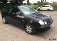 2005 VOLKSWAGEN POLO 1.0 BLACK for Sale