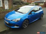 2012 VAUXHALL ASTRA VXR BLUE for Sale
