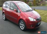 FORD FOCUS C-MAX 1.6 ZETEC RED 2008 NO RESERVE for Sale